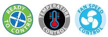 Ready to control – temperature control - FanSpeed website